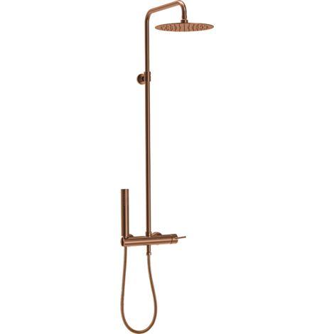 Luisa colonne de douche mécanique cuivre - Cuivre