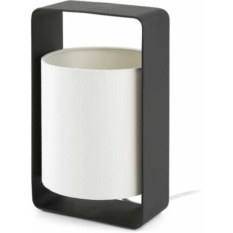 Lula black table lamp 1 bulb h27