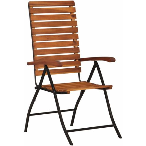 Lular Reclining Garden Chair by Dakota Fields - Brown