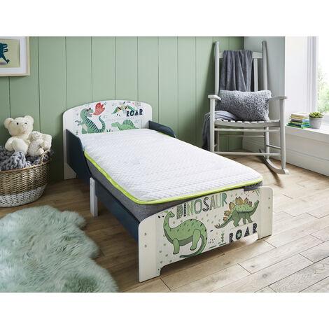 Lullaby Capella - Non slip Hypoallergenic fabric Cot mattress with 2cm memory foam