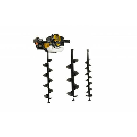 Lumag EB520G Petrol One Man Post Hole Borer / Auger Set