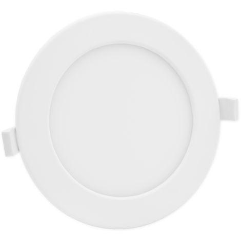 Lumare LED spots encastrables indice de protection IP44 extra-plats 18W 1250lm 230V couleur de lumière blanc chaud, pour pièces humides et pièces de vie