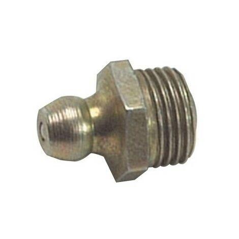 Lumatic HP2 Hydraulic Nipple Straight 1/8 BSP