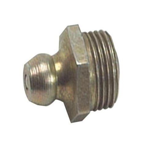 Lumatic HUF4 Hydraulic Nipple Straight 1/4 UN