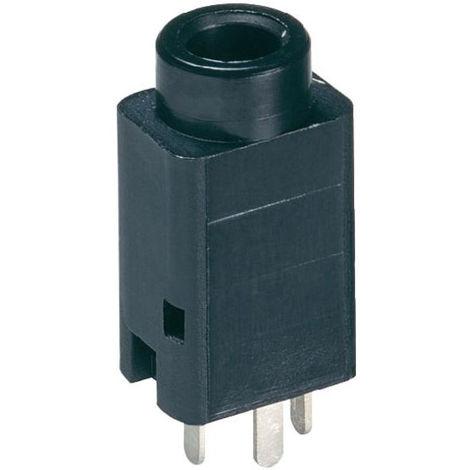 Lumberg 1502 01 Jack Socket 3.5mm Vertical PCB Mount 3 Pole Stereo