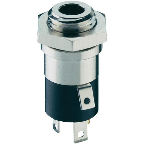 Lumberg 1502 02 Jack Socket 3.5mm Chassis Mount 4 Pole Stereo