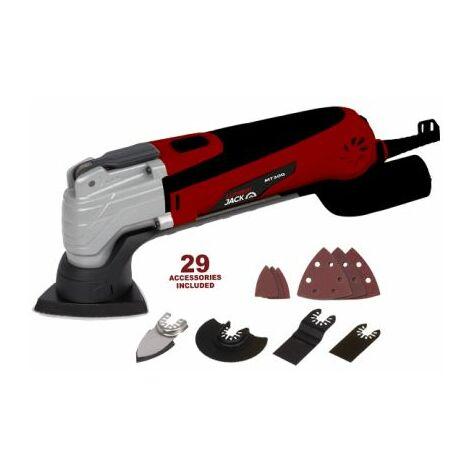 Lumberjack 300W 240V Oscillating Multi Function Tool & Wood Metal Kit