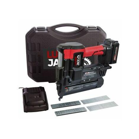 Lumberjack Cordless Nail and Staple Gun 18V Nailer stapler