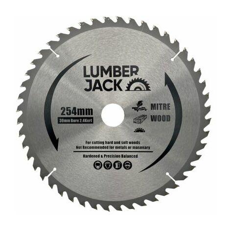 Lumberjack CSB25460 254mm 60T Circular Saw Blade