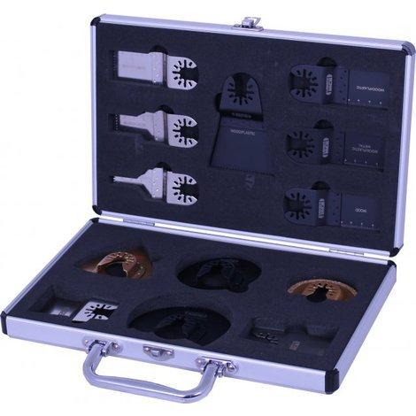 Lumberjack MTB13QR 13 Piece Quick Release Multi tool Cutter Set in Metal Case