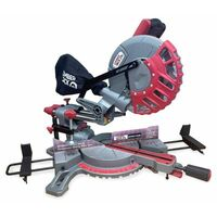 "Lumberjack SCMS210 8"" 210mm Single Bevel Sliding Compound Mitre Saw"