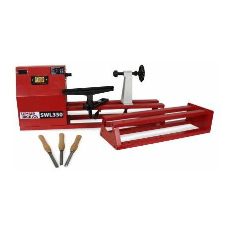 "main image of ""Lumberjack SWL350 350mm Starter wood lathe kit"""