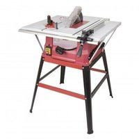 Lumberjack TS254ELS 254mm Table Saw with Side Extentions and Legstand