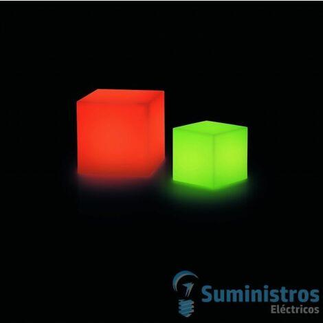 LUM.BLOCK 30x30 IP55 LED 3W RGB REMOTO