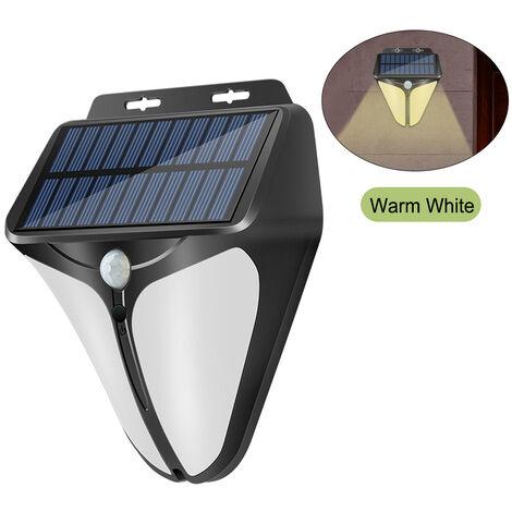 Lumiere chaude solaire de lampe de mur de capteur de corps humain de Hawkeye en forme de V