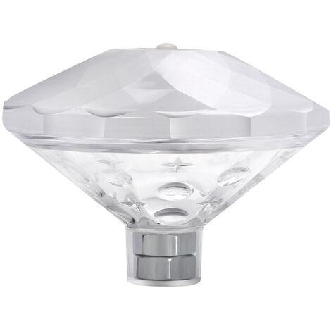 Lumiere Coloree De Flotteur D'Eau De Led De Diamant Lumiere Exterieure D'Ambiance Legere De Baignoire, Couleur
