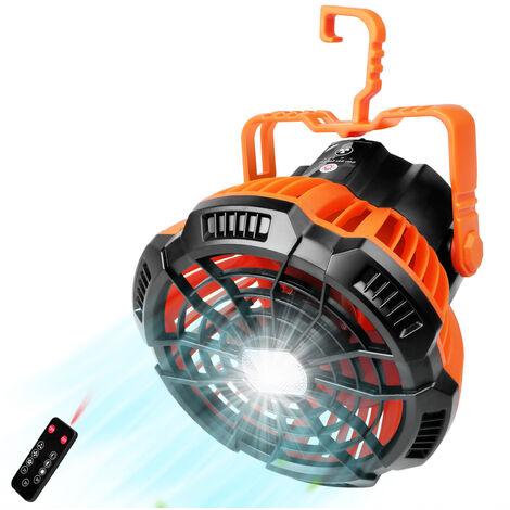 Lumiere de ventilateur de camping X10