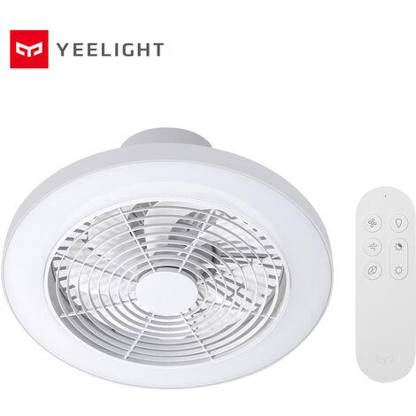 Lumiere De Ventilateur Yeelight Smart Dc Inverter, Coque Blanche