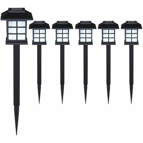 Lumière lampe LED Set 6x/12x/18x/ 24x pour jardin balcon terrasse zone d'entrée