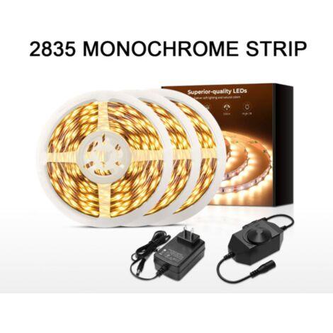 Lumière LED Gradation colorée avec 5m5050 décoration de cuisine à domicile étanche 120LED patch bande de lumière douce flexible colorée