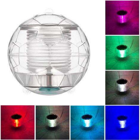 Lumières de piscine imperméables solaires veilleuse flottante avec changement de couleur pour piscine étang fontaine jardin fête décor à la maison, style 1