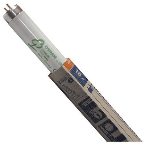 OSRAM - Tube fluocompact Luminux 18 W - 60 cm - D: 16 mm - Blanc industriel - 4 000 K - boîte