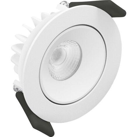 Luminaire à LED encastrable LEDVANCE SPOT ADJUST 4058075126886 LED intégrée Puissance: 4.5 W blanc chaud N/A