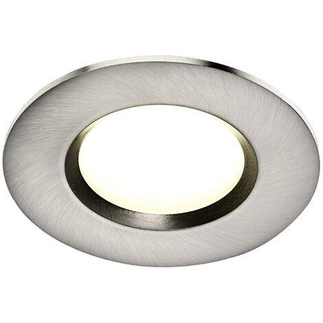 Luminaire à LED encastrable Nordlux Clarkson 47880132 jeu de 3 14.4 W acier inoxydable (brossé) 3 pc(s) C158731