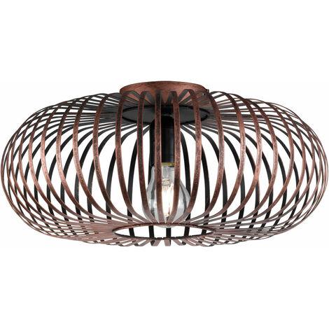 Luminaire de plafond desgin Salle manger cave Lampe ronde éclairage cuivre dans l'ensemble DEL