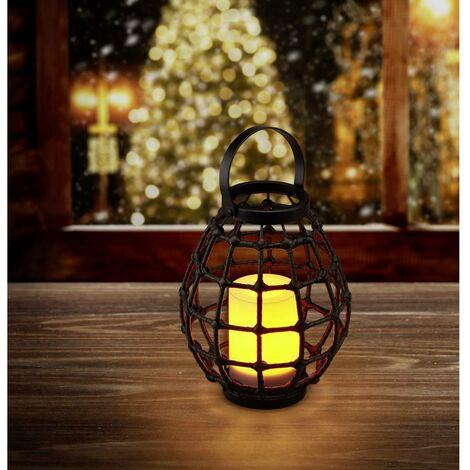 Luminaire décoratif Polarlite Rattan 230 PL-8375090 Puissance: 0.06 W ambré