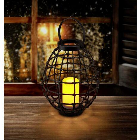 Luminaire décoratif Polarlite Rattan 330 PL-8375085 Puissance: 0.06 W ambré