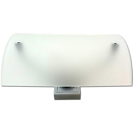 Luminaire design verre pour cable tendu TBT 120X80X65mm pour lampe G4 20W max WAVE DECLIC 138841