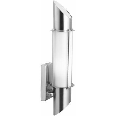 Luminaire jardin éclairage garage lampe de façade acier affiné tracé dans l'ensemble ampoules LED