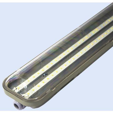 Luminaire LED étanche 48W IP65 150cm 48W 6500K
