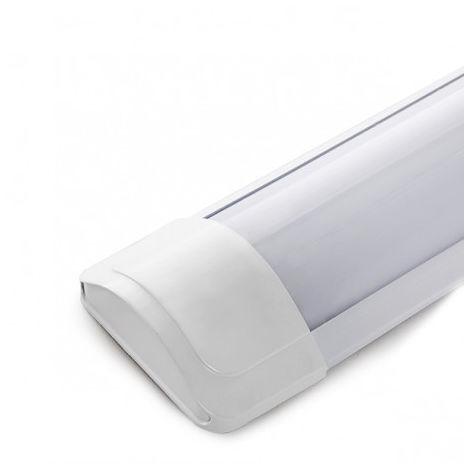Luminaire LED Lineal Monté En Surface 1200Mm 40W 3600Lm 30.000H SL-LIL-CWP200H40-W | Blanc froid (SL-LIL-CWP200H40-W)