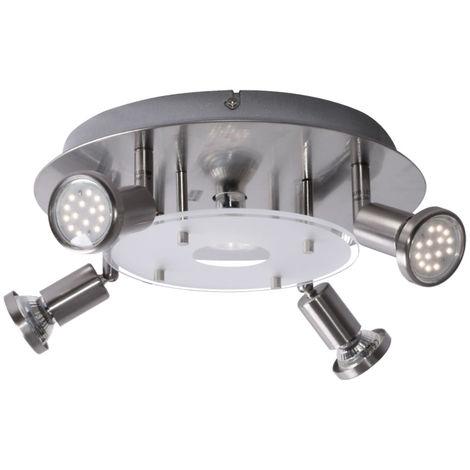 Luminaire LED plafonnier salle à manger Rondell spots spots cuisine lampadaires Eglo 93083