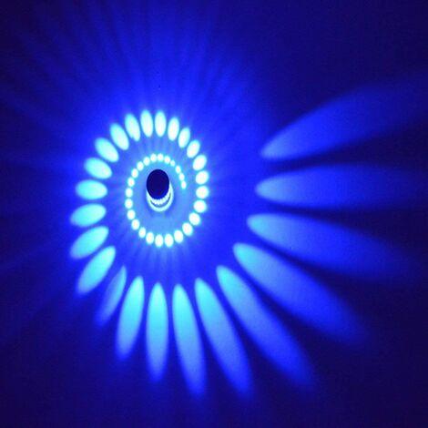 Luminaire mural à LED 3 watts, lampe murale en aluminium, lampe pour salle de bain, lampe murale moderne, lampe à