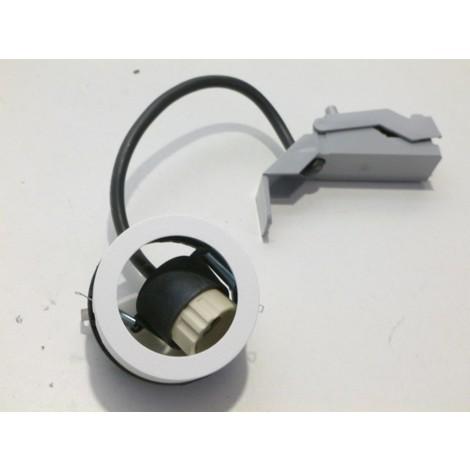 Luminaire orientable Ø 82mm blanc pour lampe GU10 230V (unité lampe) MOTTO82 modulaire SYLVANIA 3035085