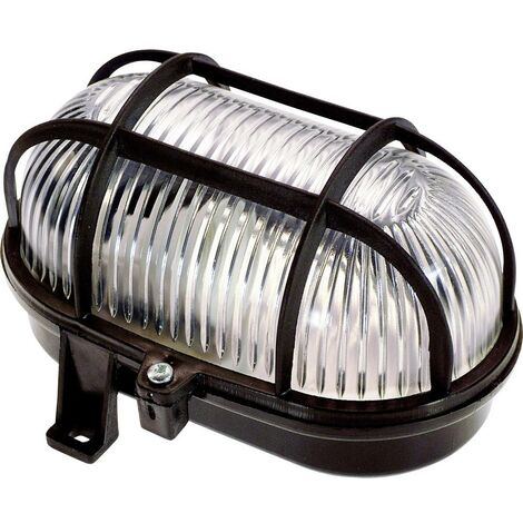 Luminaire pour pièces humides 60 W 1x E27 as - Schwabe 56111 noir 1 pc(s)