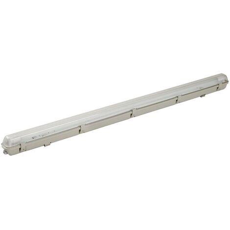 Luminaire pour pièces humides avec détecteur de mouvements Shada LED Feuchtraumleuchte 18W mit BWM 2401202 G13 Puissa