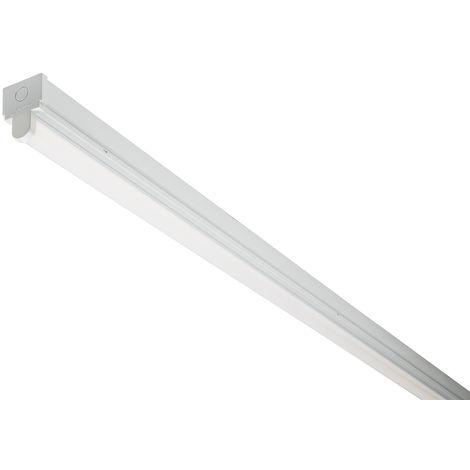 Luminaire simple tube 10 W, 230 V c.a., 615 x 60 x 85 mm
