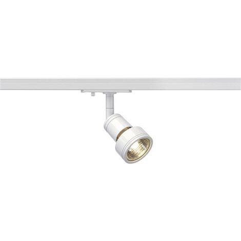Luminaire sur rail haute tension SLV Puri 143391 GU10 Puissance: 50 W