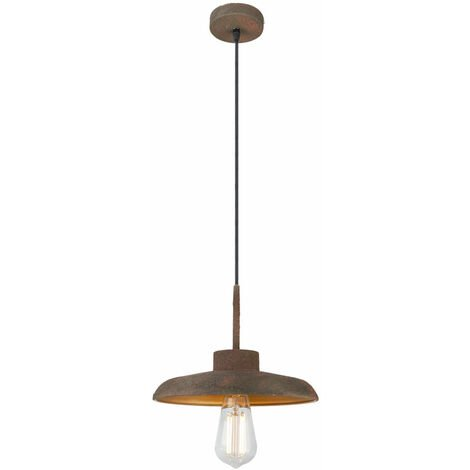 Luminaire suspendu vintage pour salon suspendu comprenant des ampoules à LED RVB