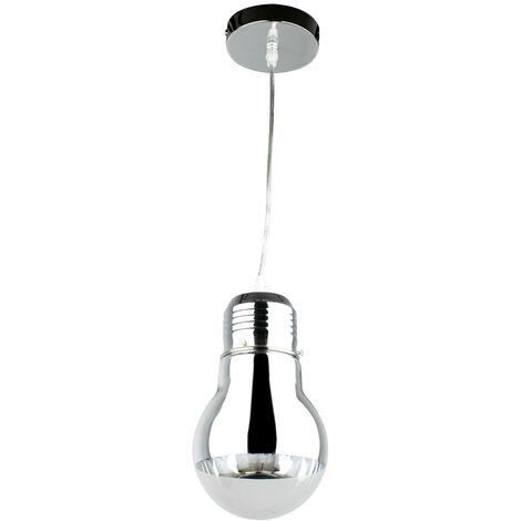 "main image of ""Luminaire suspension desing grosse ampoule plafonnier suspendu 1 lumi?re"""