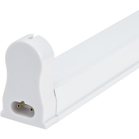 Luminaria Aluminio Eco 1 X Tubo LED T8 120Cm (AOE-T8-03)