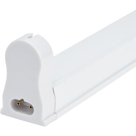 Luminaria Aluminio Eco 1 X Tubo LED T8 60Cm Conexión Un Extremo (AOE-T8-01-1E)