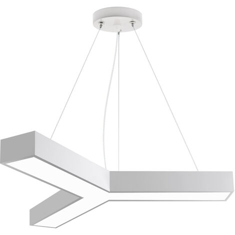 Luminaria colgante o superficie TRILED, Ø900mm, 40W, blanco, Blanco neutro
