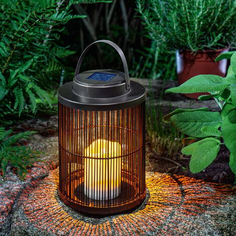 Luminaria colgante solar Sara de jardín y para exteriores, esotec 102160