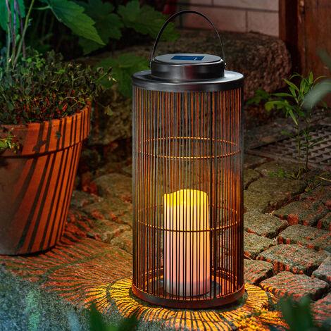 Luminaria colgante solar Sara de jardín y para exteriores, esotec 102161