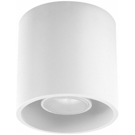 Luminaria de superficie GU10 foco de superficie, plafón, foco de superficie blanco, aluminio, F x Al 10x10 cm